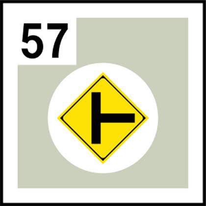 57-道路標識