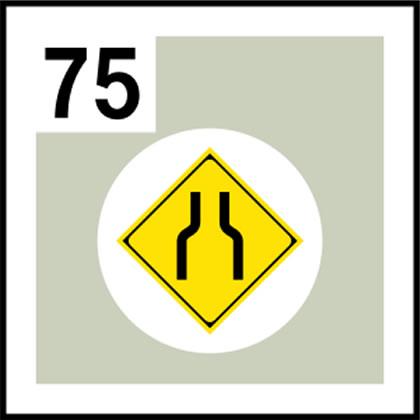 75-道路標識