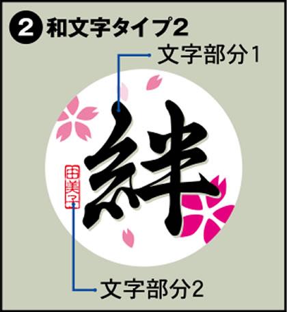2-和文字タイプ2