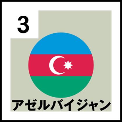 3-アゼルバイジャン