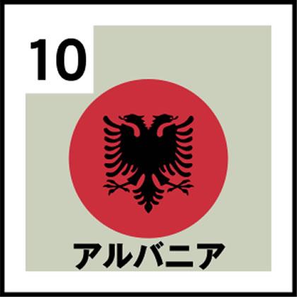 10-アルバニア