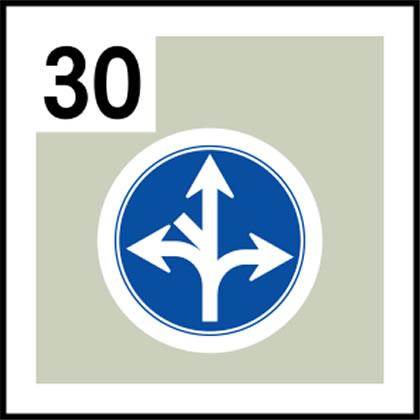 30-道路標識