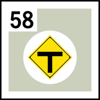58-道路標識