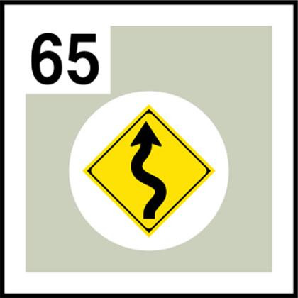 65-道路標識